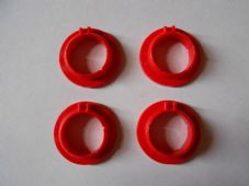 FORD CAPRI Mk2, Mk3 BRAKE & CLUTCH PEDAL BUSHES (Set of 4)